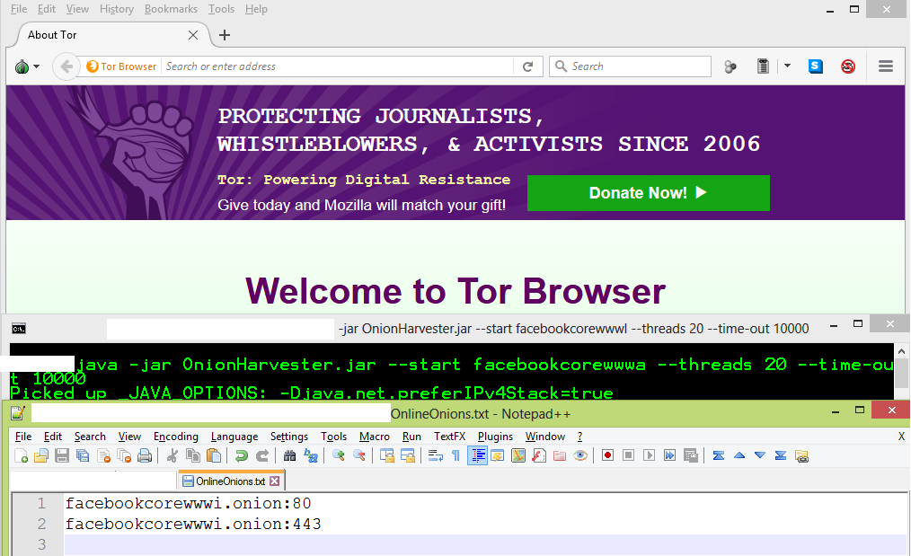Tor onion search engine / List of commands for command blocks