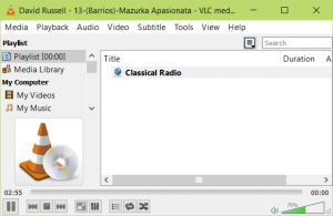 Internet Radio Audience using VLC
