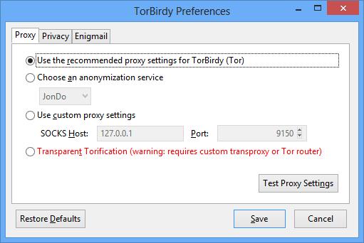 TorBirdy