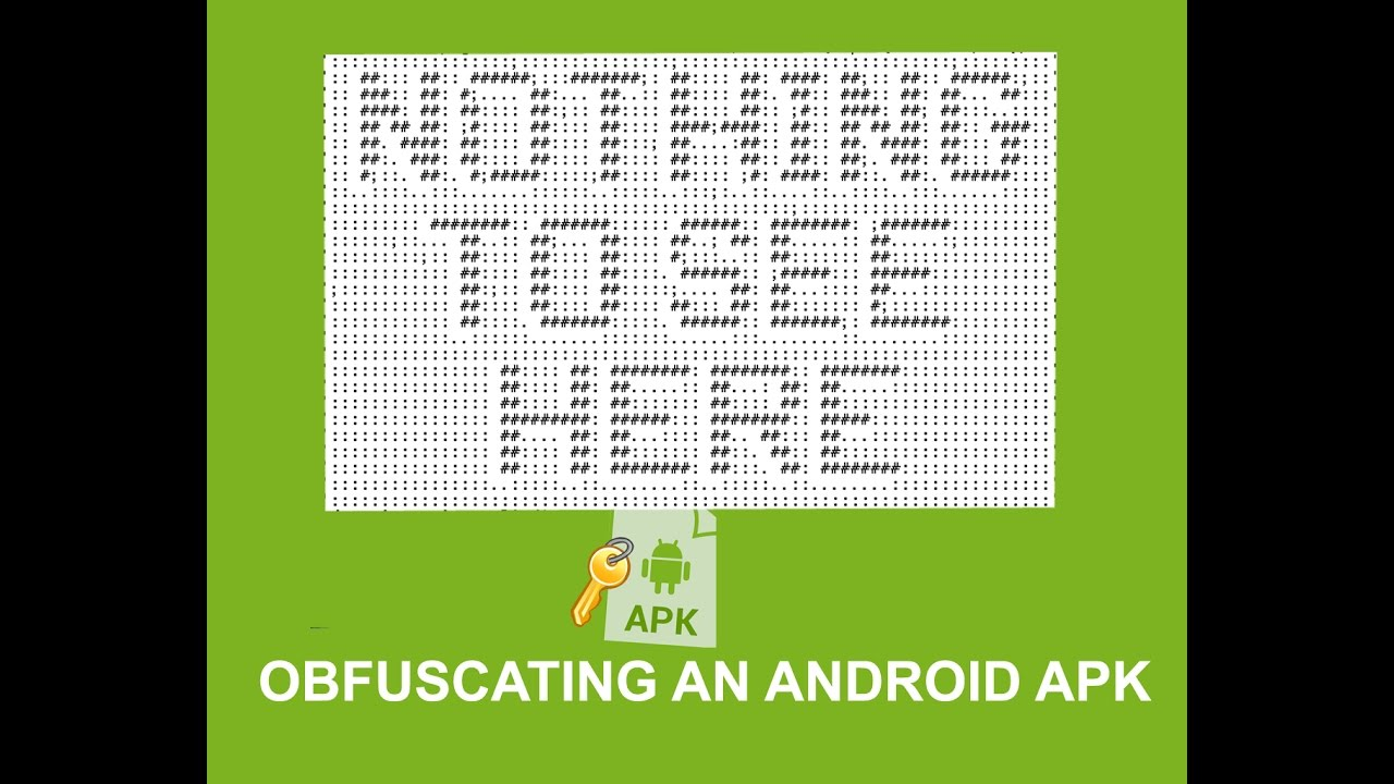 Android Obfuscation
